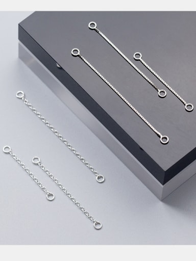 925 Sterling Silver With Silver Plated Classic Chain