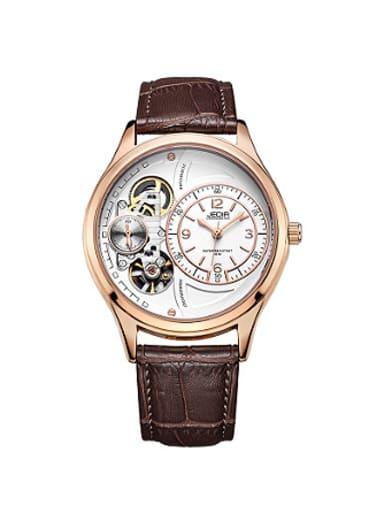 JEDIR Brand Trendy Hollow Mechanical Watch