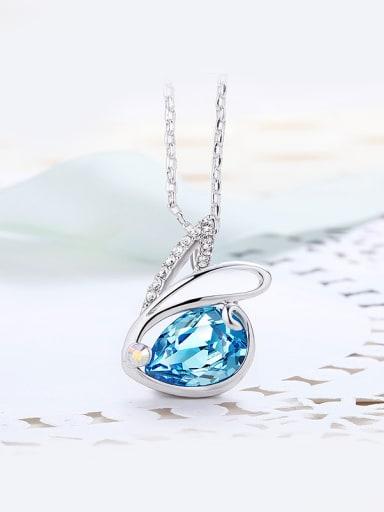 Swarovski Crystal Rabbit Shaped Necklace