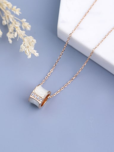 All-match Ring Necklace