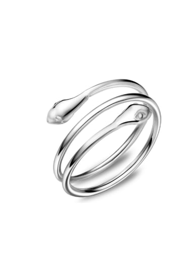 Multi-layer Creative Snake Simple Opening Ring