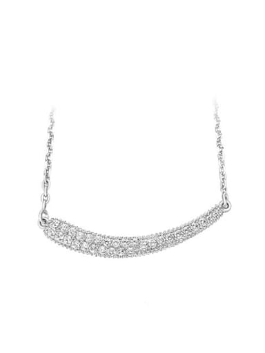 Simple Cubic Zirconias Women Necklace