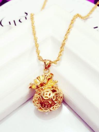 Women Exquisite Purse Shaped Necklace
