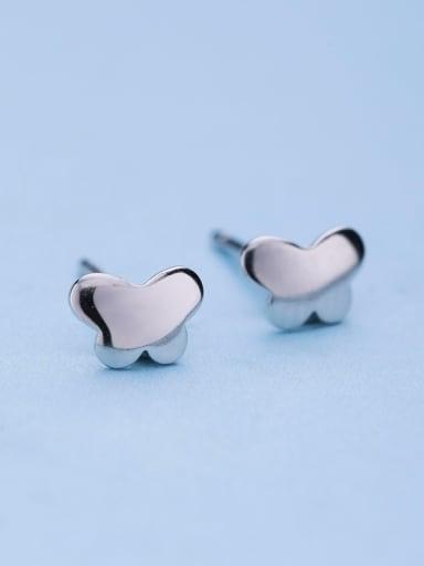 925 Silver Butterfly Shaped stud Earring