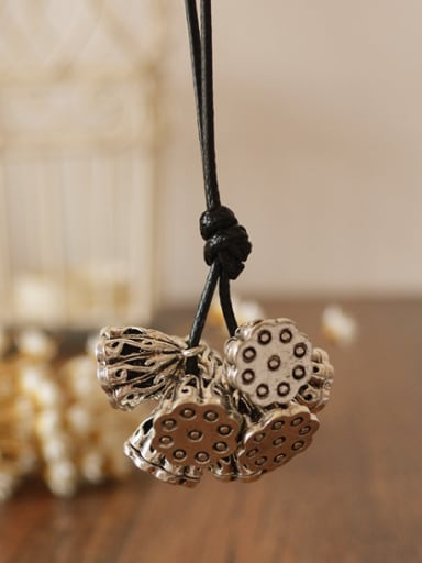 Delicate Lotus Root Shaped Necklace