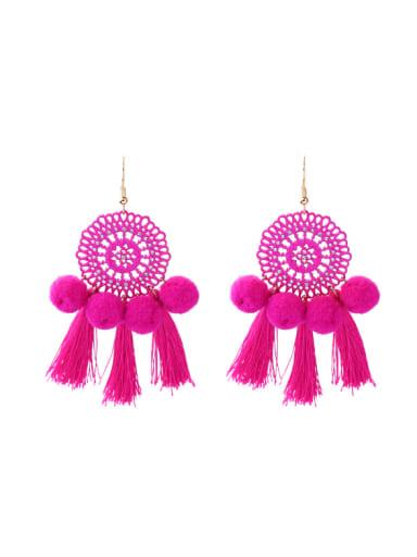Bohemia National Wind Tassel Fashion Drop Earrings