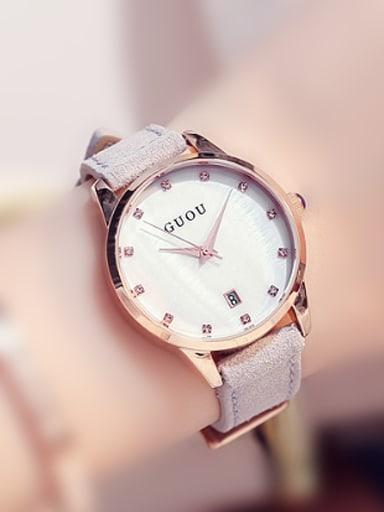 GUOU Brand Classical Mechanical Women Watch