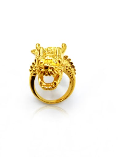 Men Luxury Dragon Shaped Ring