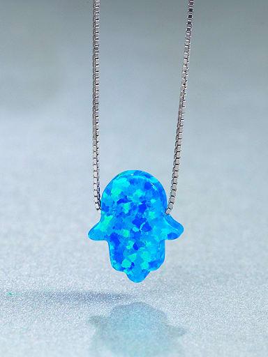 Palm Opal Stone Necklace