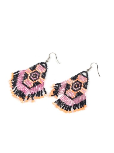 Western Style Tassel Drop Earrings