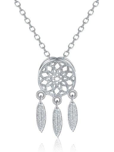Fashion Dreamcatcher Pendant Copper Necklace