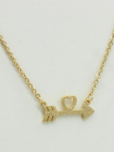 Love Arrow Pendant Women Necklace