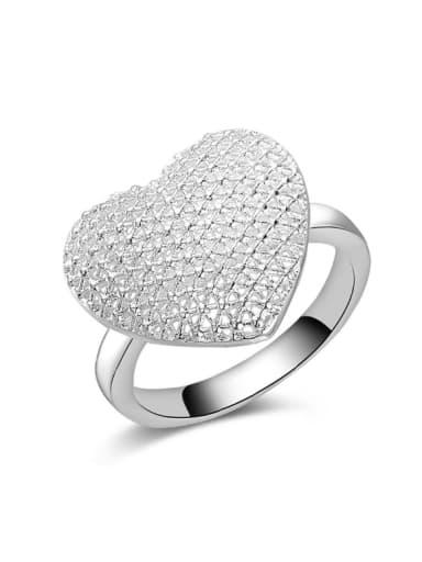 Classical Heart-shape Women Fashion Ring