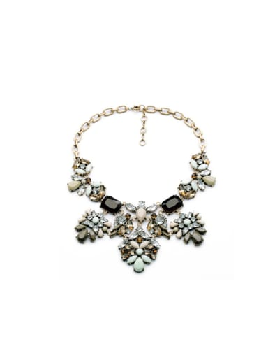 Exaggerate Women Alloy Necklace