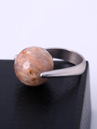 Exquisite Natural Shaped Geometric Shaped Ring