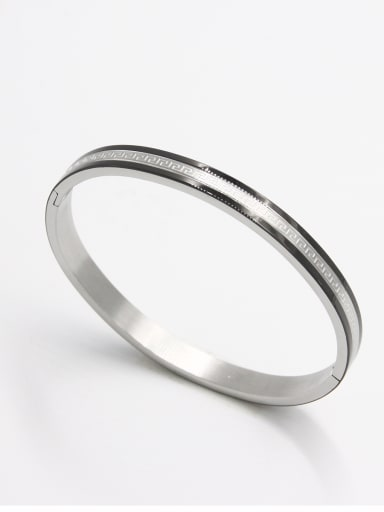 Model No A000031H-004 Stainless steel   Bangle    59mmx50mm