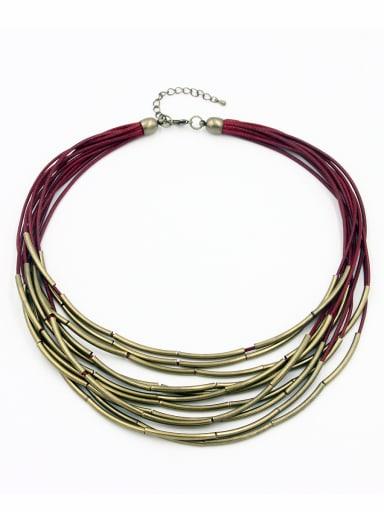 Copper Statement Gunmetal Beautiful Chain