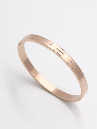 Stainless steel  Rose  Beautiful Bangle  59mmx50mm