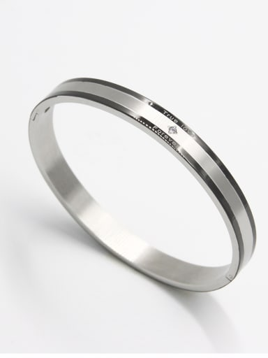 Model No 1000000196 Fashion Stainless steel  Bangle  63MMX55MM