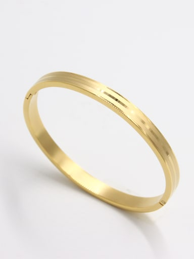 Stainless steel   Bangle  59mmx50mm