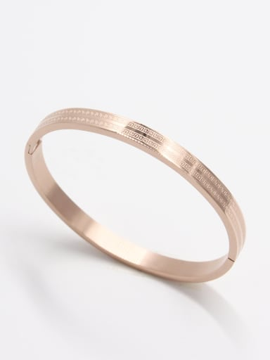 Model No 1000000076 Stainless steel   Bangle    59mmx50mm