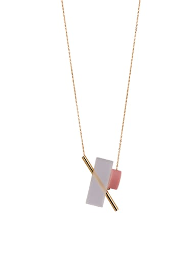 Gold Youself ! Gold Plated Zinc Alloy  necklace