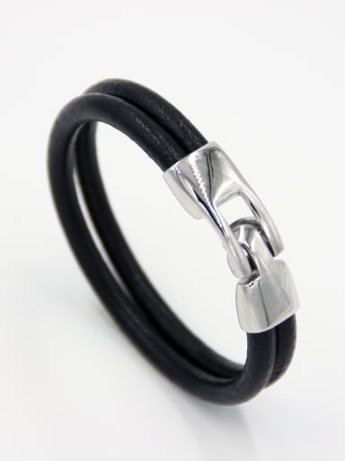 Blacksmith Made Stainless steel Geometric Bracelet