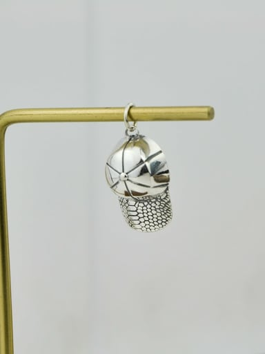 Vintage Sterling Silver With Vintage Hat Pendant Diy Accessories