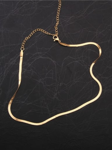 Titanium Minimalist Chain  Necklaces