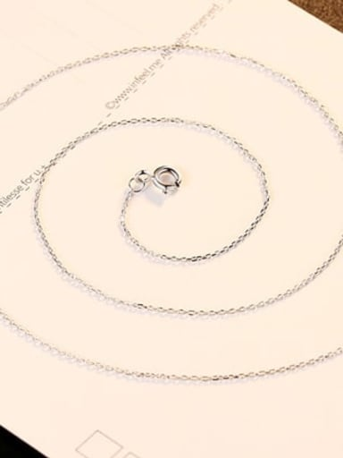 Platinum 40+ 5cm 925 Sterling Silver Minimalist Cable Chain
