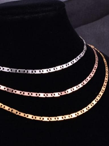 Titanium Minimalist Bar Chain