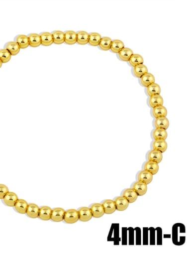 gold 4mm Brass Ball Minimalist Bead Chain