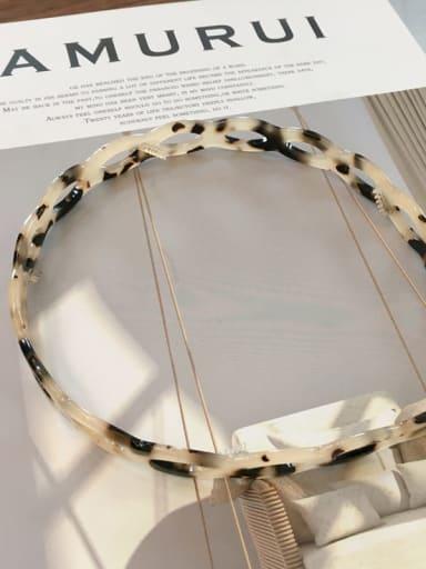 Rice hawksbill k051 Cellulose Acetate Vintage Geometric Hair Headband