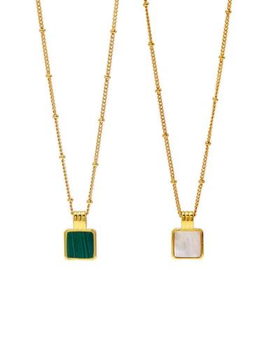 Copper Malchite Necklace