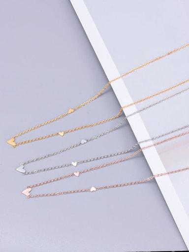 Titanium Smooth Triangle  Necklace