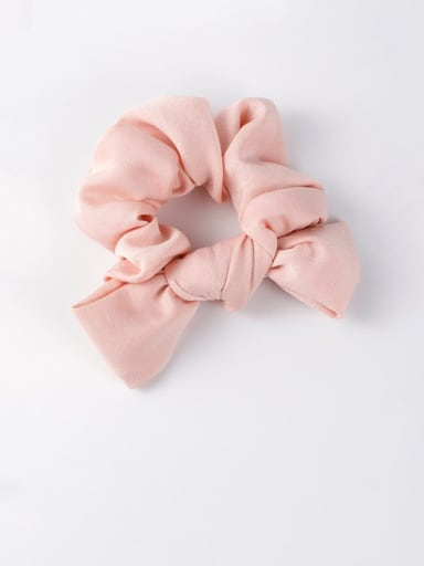 A pink Ribbon bow headband tied hair hair band