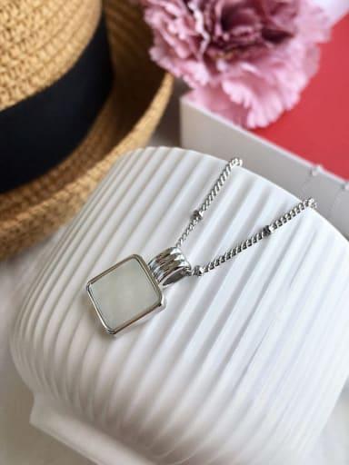 Silver(white) Copper Malchite Necklace
