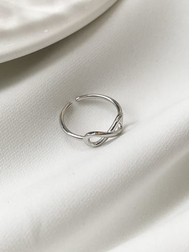 925 Sterling Silver Irregular Minimalist Midi Ring