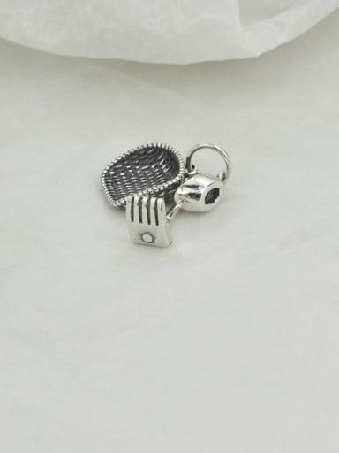 Vintage Sterling Silver With Vintage Lngot Dustpan Pendant Diy Accessories