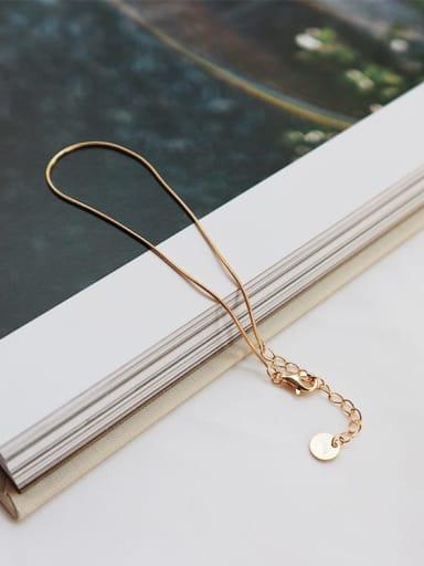 925 Sterling Silver Minimalist Link Bracelet