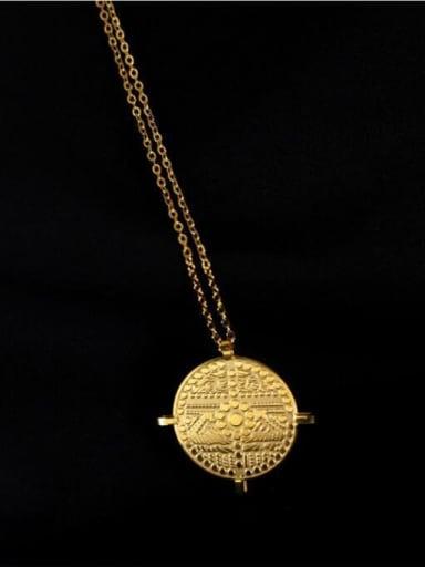 Titanium Simple Necklace