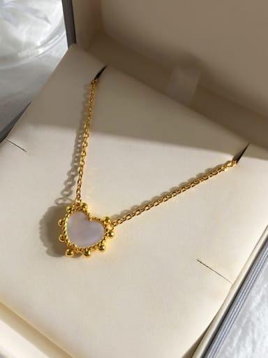 gold white Copper Malchite Multi Color Necklace