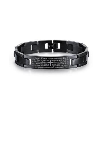 Titanium Cross Minimalist Bracelets