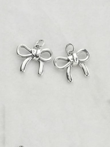 Vintage Sterling Silver With Minimalist  Butterfly Pendant Diy Accessories