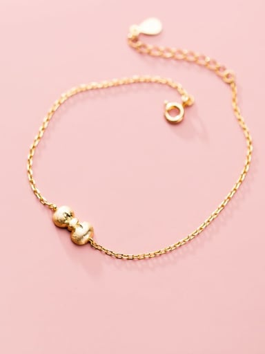 Bowknot Minimalist 925 Sterling Silver Anklet