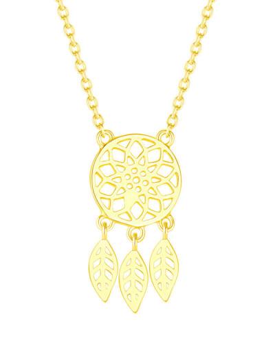 925 Sterling Silver Leaf Minimalist pendant Necklace