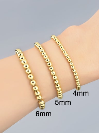 Brass Ball Minimalist Bead Chain