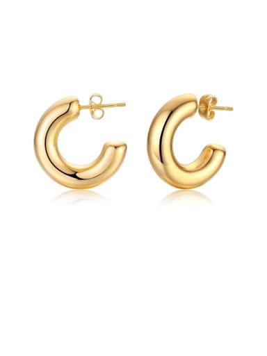 Circle eh 289 Stainless steel Geometric Minimalist Drop Earring