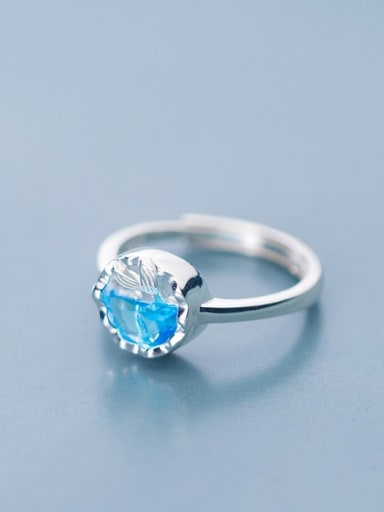 925 Sterling Silver Cubic Zirconia Round Minimalist Band Ring