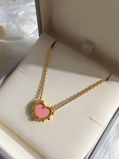 Gold powder Copper Malchite Multi Color Necklace